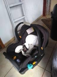 Bebê conforto, protetor de berço e canguru