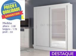 ** Catálogo completo via whats- Promoção Guarda Roupa Casal Espelho 2P 2 Gav. Bavária