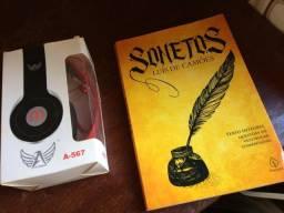 Headphone + livro