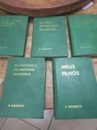 Livro na medicina doméstica