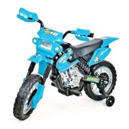 Moto Cross infantil elétrico 6v