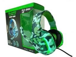 Headset Gamer Tecdrive Px-6-Naval Led PC Vídeo Game
