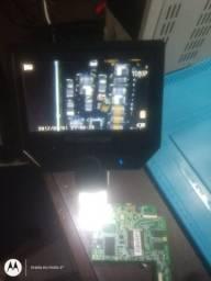 Microscópio digital com monitor LCD Full HD 600 x