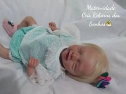 Mini bebê reborn Salia a pronta entrega em promoção