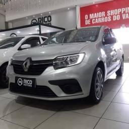 Título do anúncio: Renault Logan Life 1.0 2020 Flex
