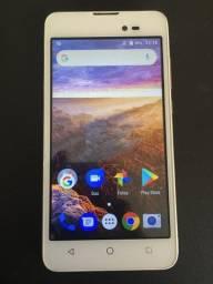 Smartphone Multilaser Ms50L Dourado/Branco