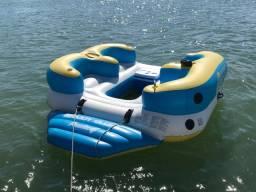 Flutuante para 4 pessoas, ideal para jet ou lancha