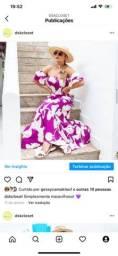 Vestido super luxo