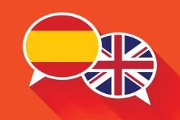 Aulas online de Inglês / Espanhol