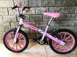 Bicicleta (Bandeirantes)(Barbie ) Aro:16