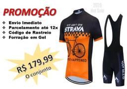 Conjunto Ciclismo Strava *Promoção