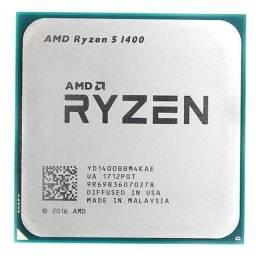 Ryzen 5 1400 muito novo, nunca feito over clock, equivalente i7 7700