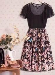 Vestido Antix midi Mar de Rosas II