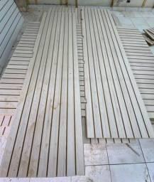 Painel canaletado usado
