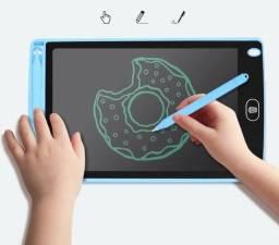 tablet lcd para escrita e desenhos - incentiva o aprendizado