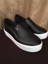Sapato Slip On FlatForm Santa Lolla Liso