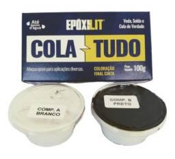 Cola Tudo Epóxilit Massa Subaquática Epóxi 100g  Nauticola