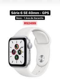 Apple Watch S6 SE 40mm Novo Garantia 1 Ano - Aceito Cartão