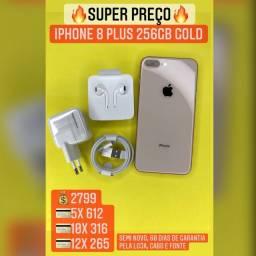 Título do anúncio: iPhone 8 plus 256 gold - aceitamos seu IPHONE usado como entrada