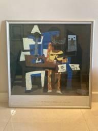 Três Músicos - Pablo Picasso 81 Cm X 78 Cm Em Bom Estado