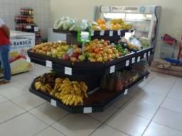 Expositores para Frutas e Verduras em MDF