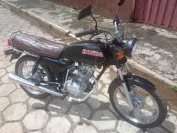 Moto CG 125 Raridade 1985