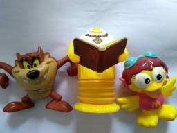 Brinquedos - bonecos Mc Lanche Feliz - Taz