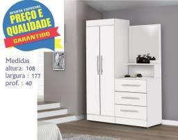 ** Catálogo completo via whats- Promoção Roupeiro Cômoda Onix