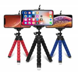 Mini Suporte Universal Octopus Tripé de mesa Escalável para celular