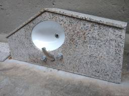 Pia lavatório completo top um luxo