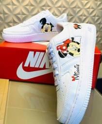 Tênis Nike Air Force Minnie