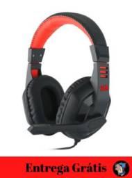 Headset Gamer Redragon Ares H120 Preto / Vermelho
