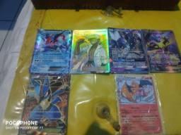 Cartas Pokémon TCG GX e Ex