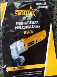 Tesoura elétrica para corta chapa