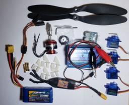 Kit Eletrônica Aeromodelo Motor emax-2822
