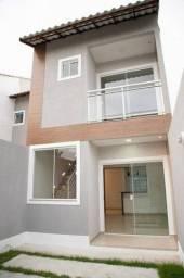 Casa Nova 3 quartos com  garagem e churrasqueira