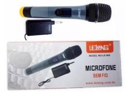 Microfone Sem Fio LE 909