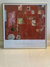 Estudio Vermelho - Henri Matisse 79 Cm X 76 Cm Em Bom Estado