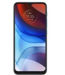 Acabando: Celular Motorola Moto E7 Power Azul Metalico 32gb Tela 6.5 Cam Dupla