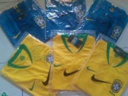 Camisa Brasil 2018-2020 original - Neymar 10, Coutinho 11
