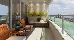 Excelente Apartamento em Capim Macio, Royal Palms com 142 m2