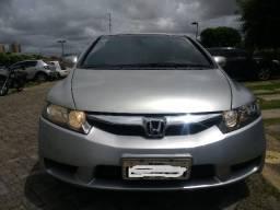 Honda New Civic LXS 2009 AT - Prata - 2009