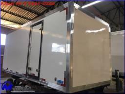 Bau frigorifico termico para caminhão Mathias Implementos