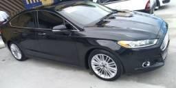 Ford Fusion Titanium FWD 2014 - Troco em carro de menor valor - 2014