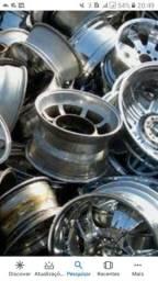 Sucatas alumínio