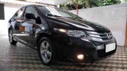 Honda City Lx 1.5 Flex Manual Couro Completo Carro de Garagem Licenciado 2019 Só 72.000Km - 2010