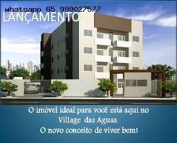 Apartamento para Venda em Várzea Grande, Ponte Nova, 2 dormitórios, 1 banheiro, 1 vaga