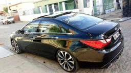 Sonata 2012 rodas aro 20 e multimídia carro impecável - 2012