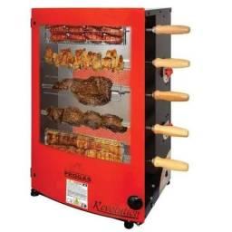 Churrasqueira eletrica 5 espetos / Bastante eficiente