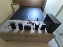 Caixas de som do home theater phillips 770w (apenas as caixas)